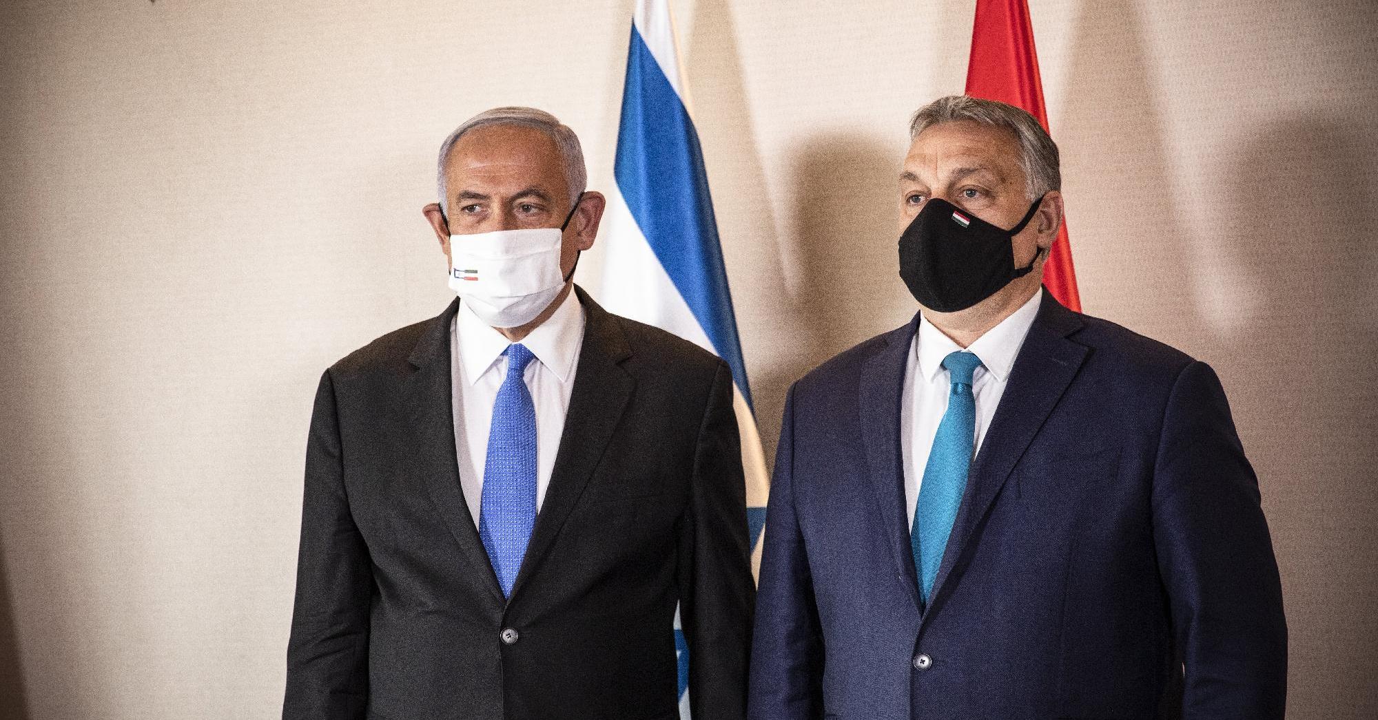 Ami Orbánnak összjött, Netanjahunak nem