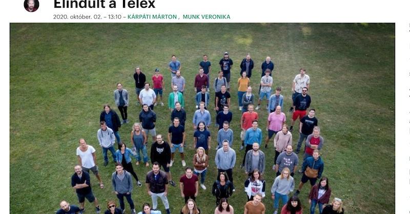 Elindult a Telex.hu | Klubrádió